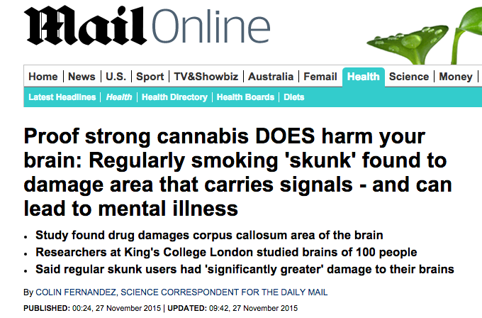 Daily Mail Online Screenshot