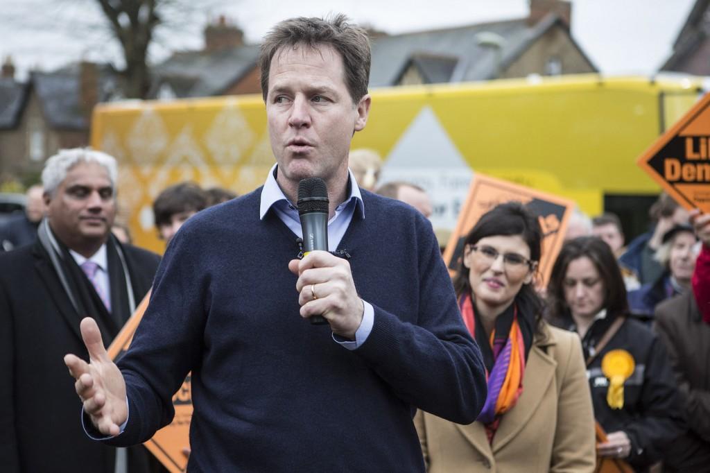 Nick Clegg (Source: Liberal Democrats )