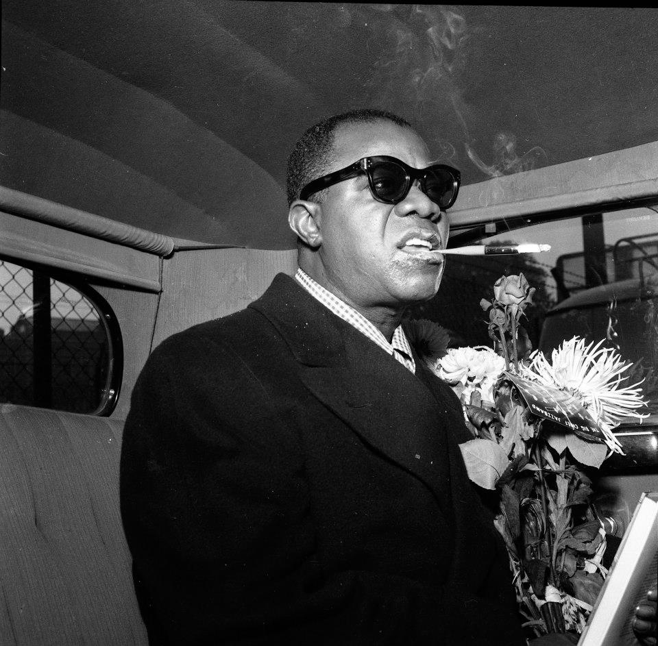 Louis Armstrong (Source: Flickr - Riksarkivet)