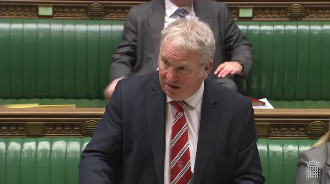 Mike Penning (Source: parliament.tv)