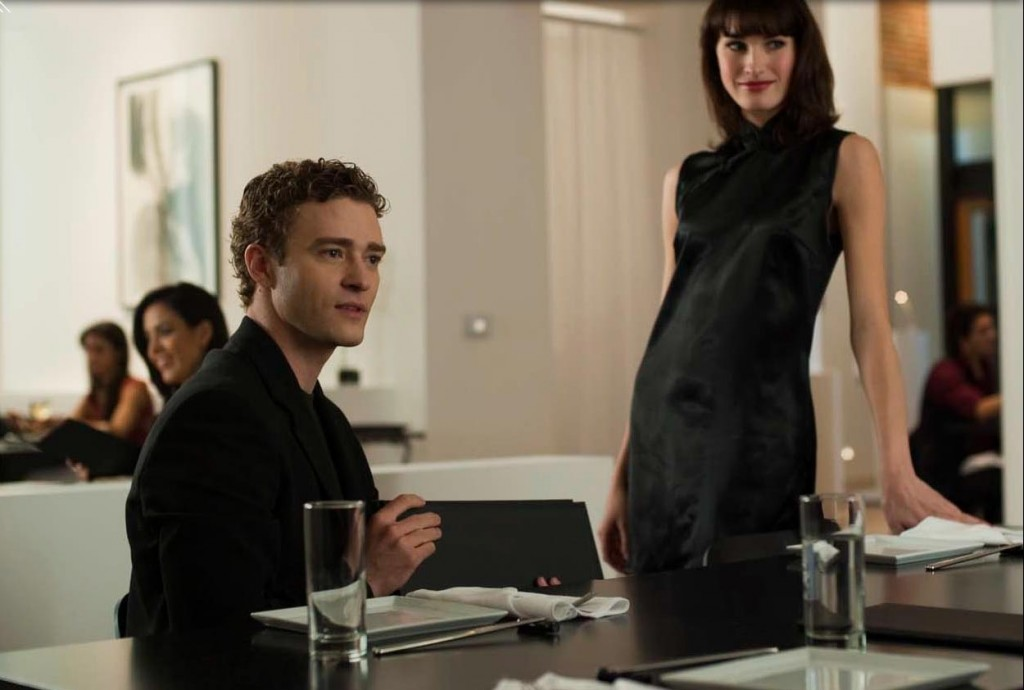 (Sean Parker, played here by Justin Timberlake in 'The Social Network')