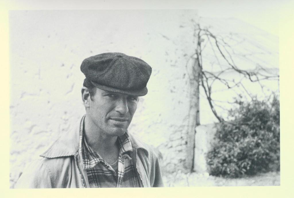 Jack Kerouac in Villa Muneria, Tangier