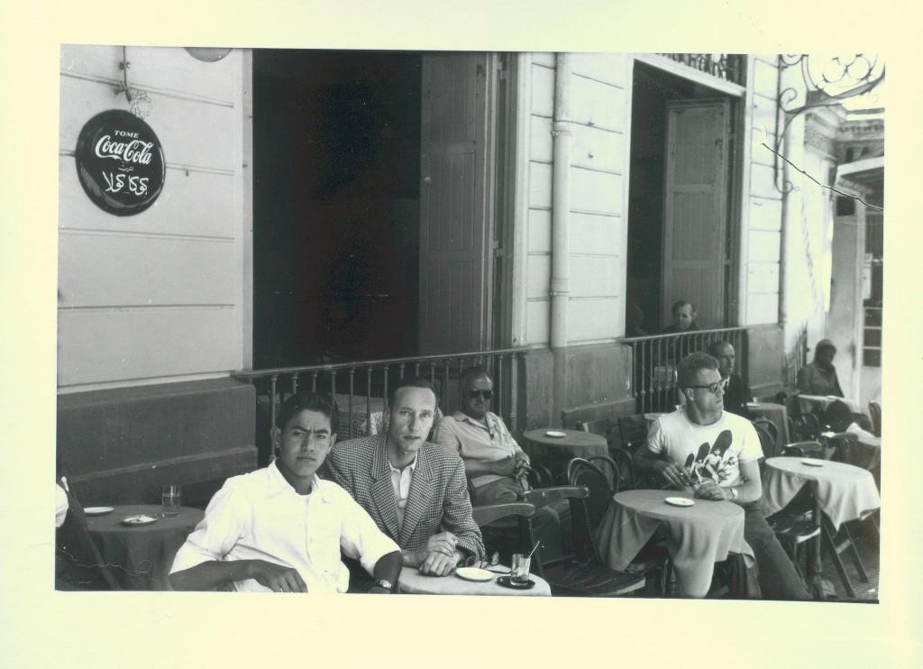 William Burroughs and Moroccan boyfriend