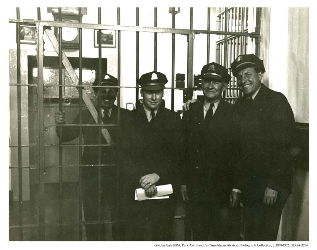 Alcatraz prison guards.