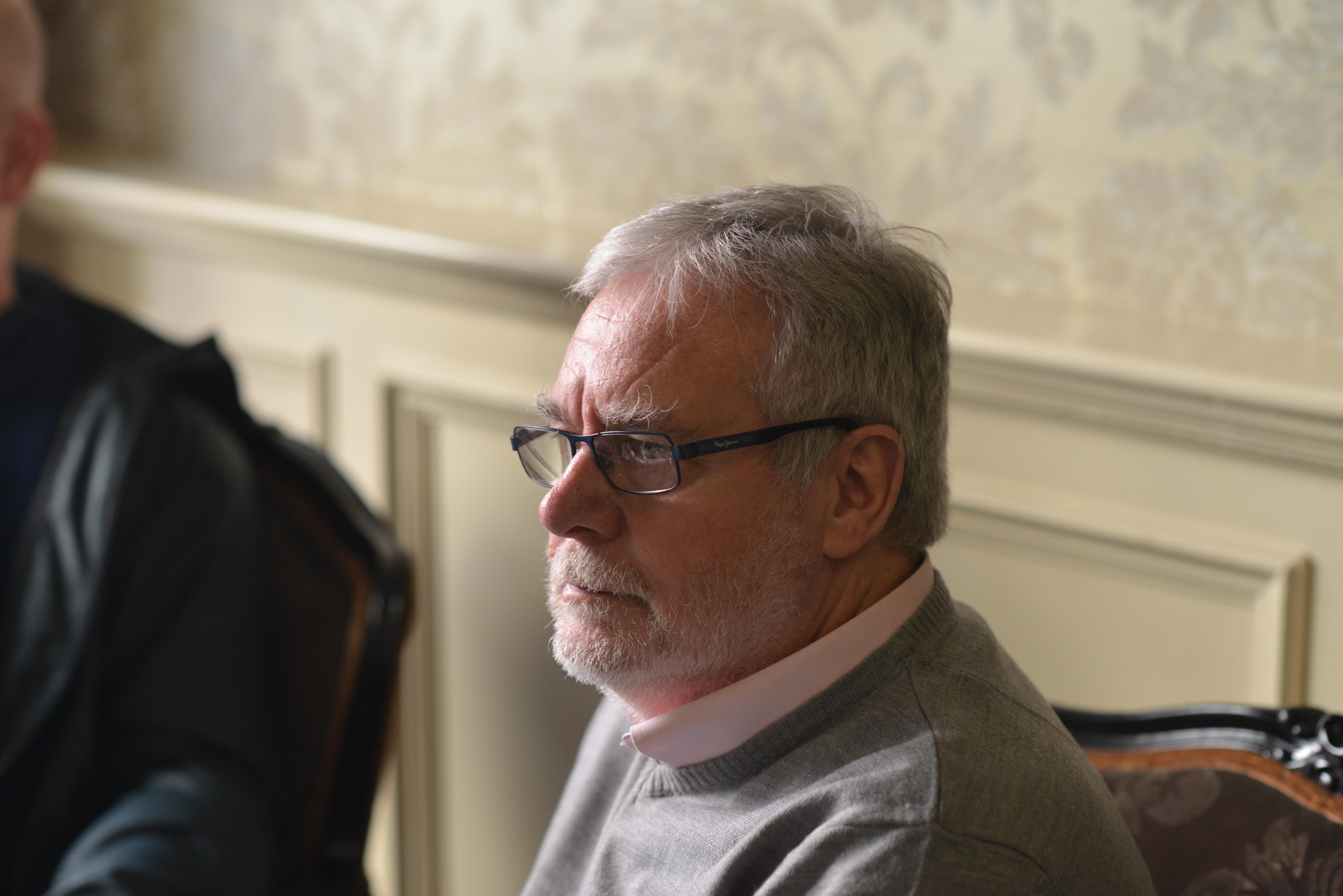 Tom Curran in Dublin