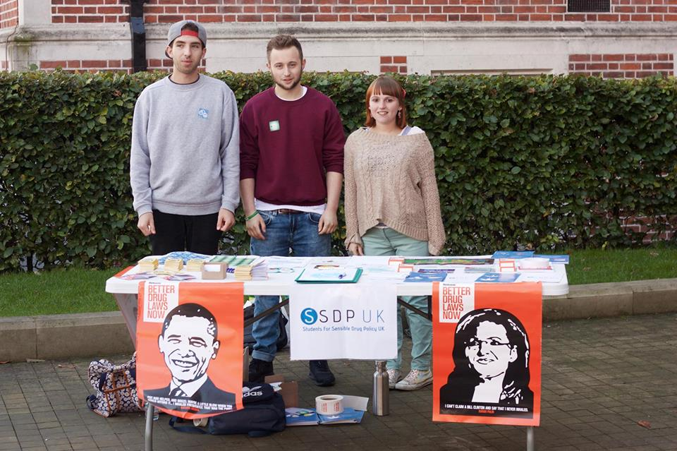 Students For Sensible Drugs Policy - Newcastle University (Source: Facebook)