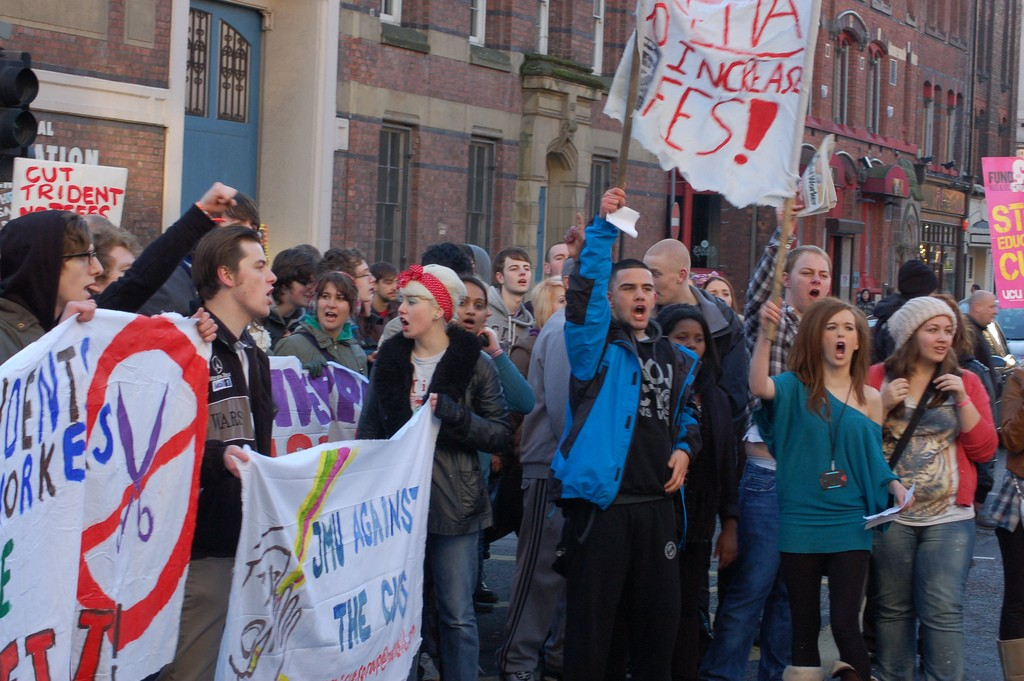 Young people are interested in principled politics, not pandering to 'youth issues' (Source: Flickr - Matt Baldry)