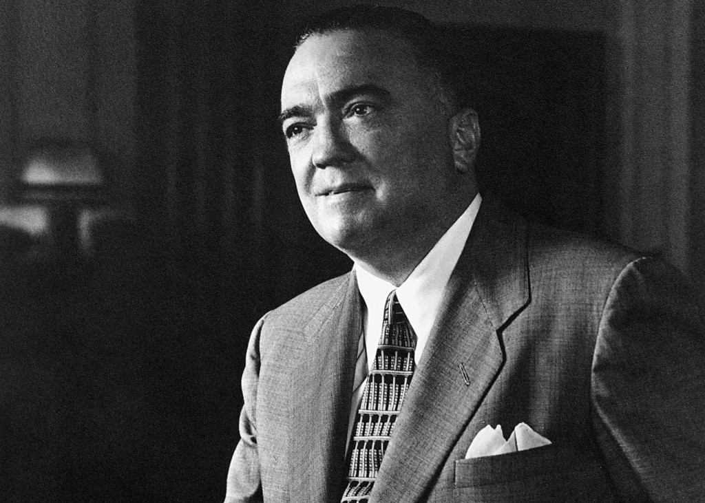 J. Edgar Hoover took inspiration for the FBI from the Prohibition Bureau (Source: Wikipedia)