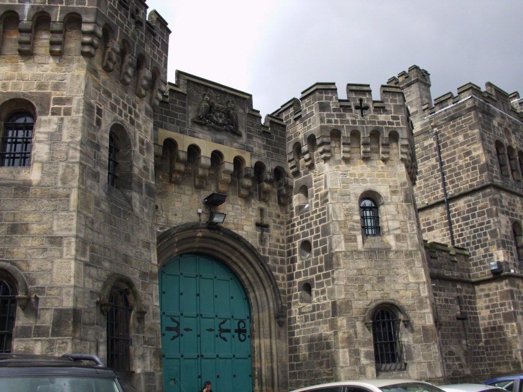 HMP Armley, Leeds - the most overcrowded prison in the UK, according to http://www.howardleague.org/overcrowding0/ (Source: Wikimedia Commons)