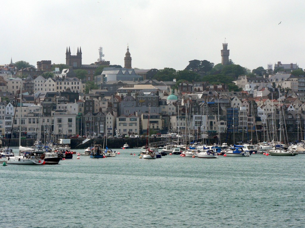 St Peter Port in Guernsey, United Kingdom. (Source: Wikimedia Commons)