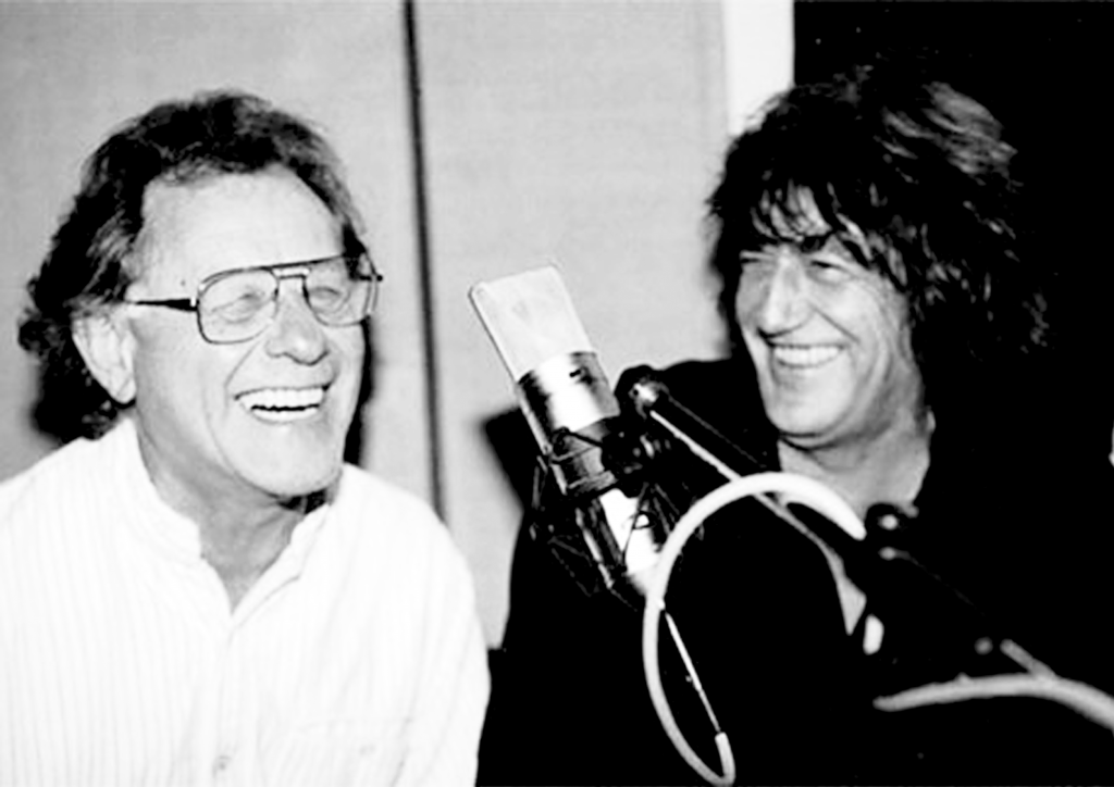 Lee Harris and Howard Marks (Source: ILLEGAL! Magazine)
