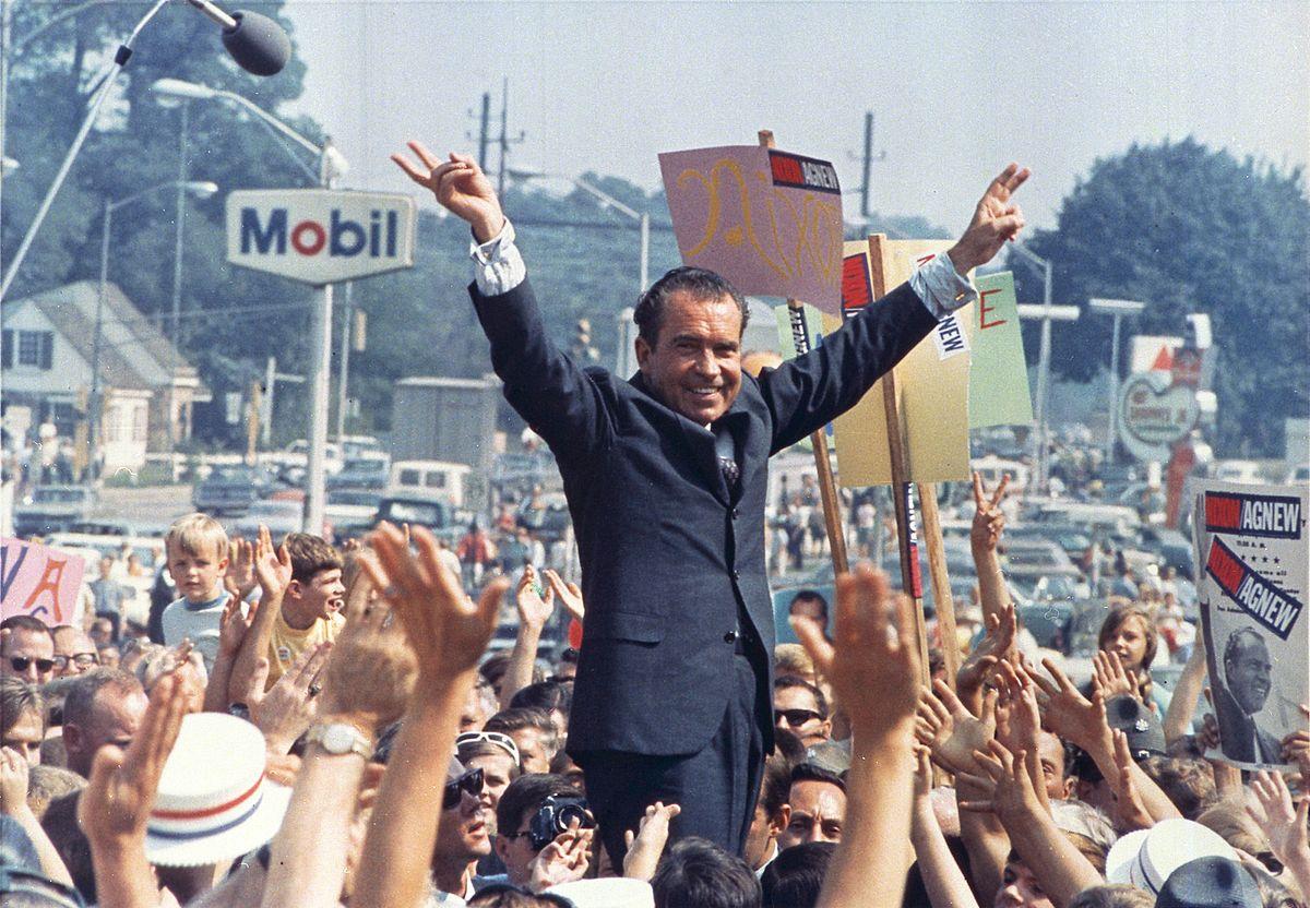 Richard Nixon (Source: Wikimedia Commons - Ollie Atkins, White House photographer)