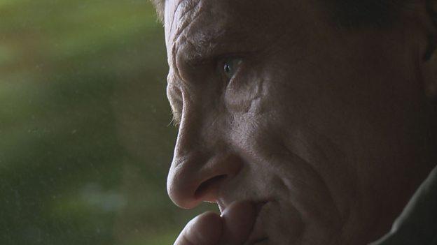 Philip's father. Chasing Dad - BBC3 (Source: BBC)