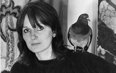 Amanda Feilding with Birdie. (Beckley Foundation)