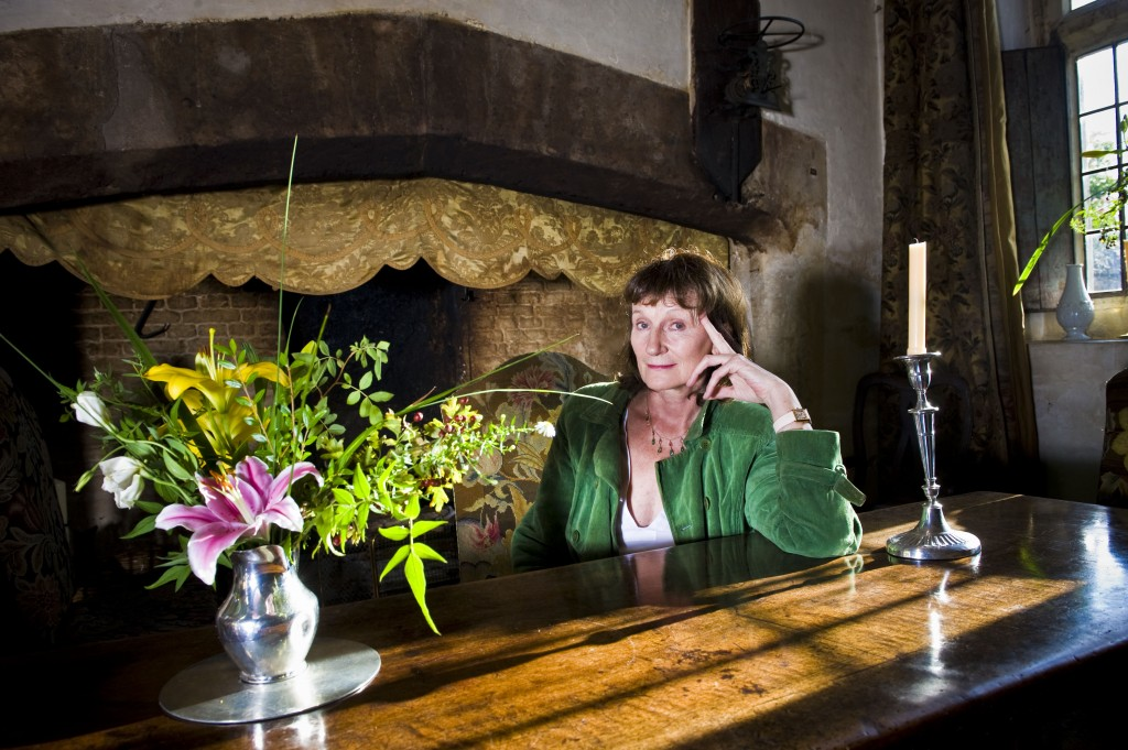 Amanda Feilding at home. (Beckley Foundation)