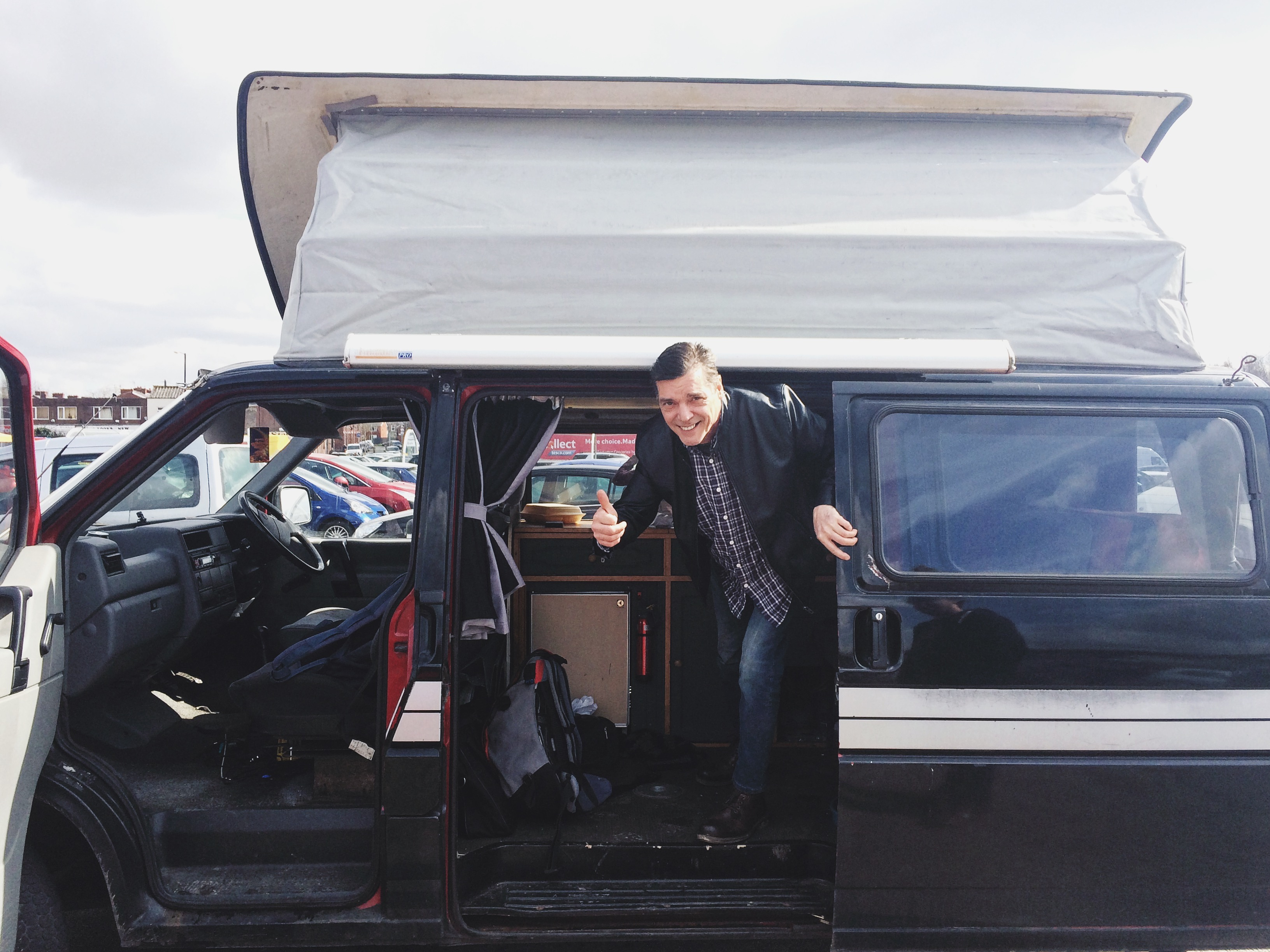 Alastair Moore Colin Davies Manchester Van