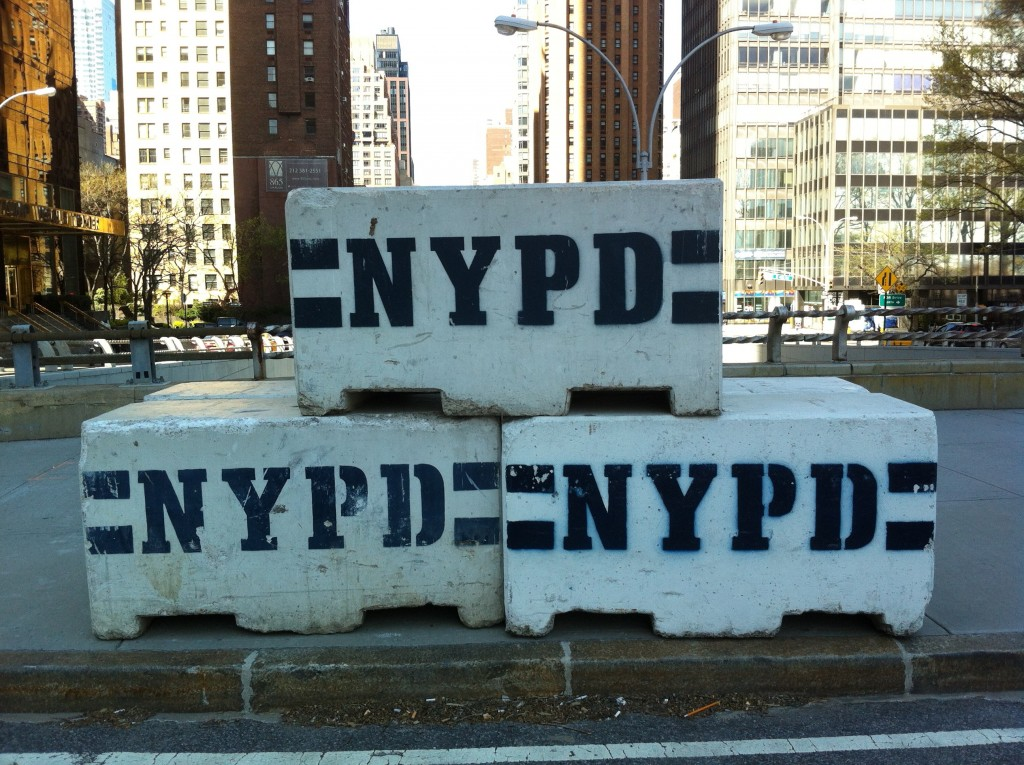 Plenty of roadblocks to be found at the UN, both physical and metaphorical (Source: Henry Fisher)
