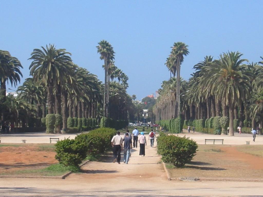 Parc de la Ligue Arabe, Casablanca. (Wikimedia Commons)