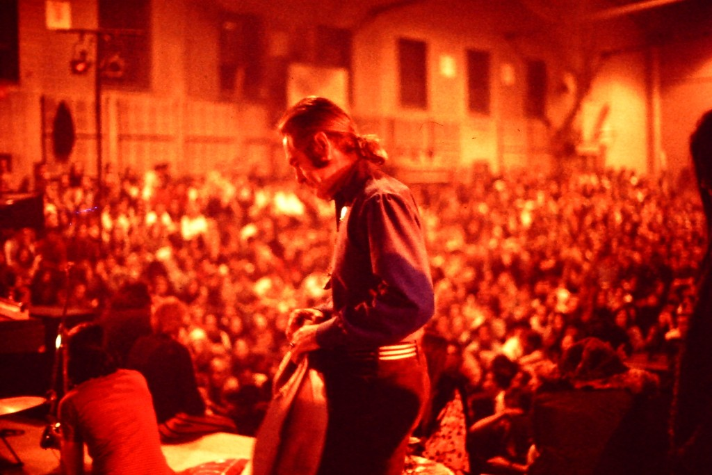 Timothy Leary on his 1969 lecture tour, where he urged attendees to 'tune in, turn on, drop out' (Source: Wikimedia Commons)
