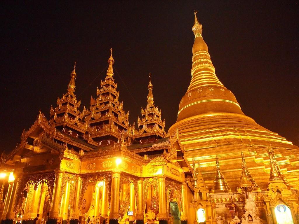 Shwedagon Pagoda in Yangon, Myanmar. (Flickr - paularps)