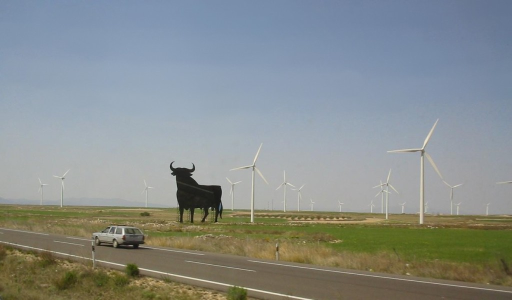 Wind Farm, Spain. (Source: Wikimedia Commons)