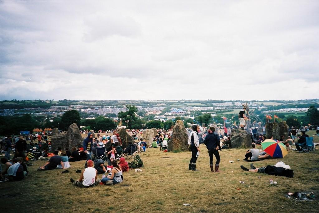 Glastonbury's Stone Circle (Flickr - Rob Sinclair)