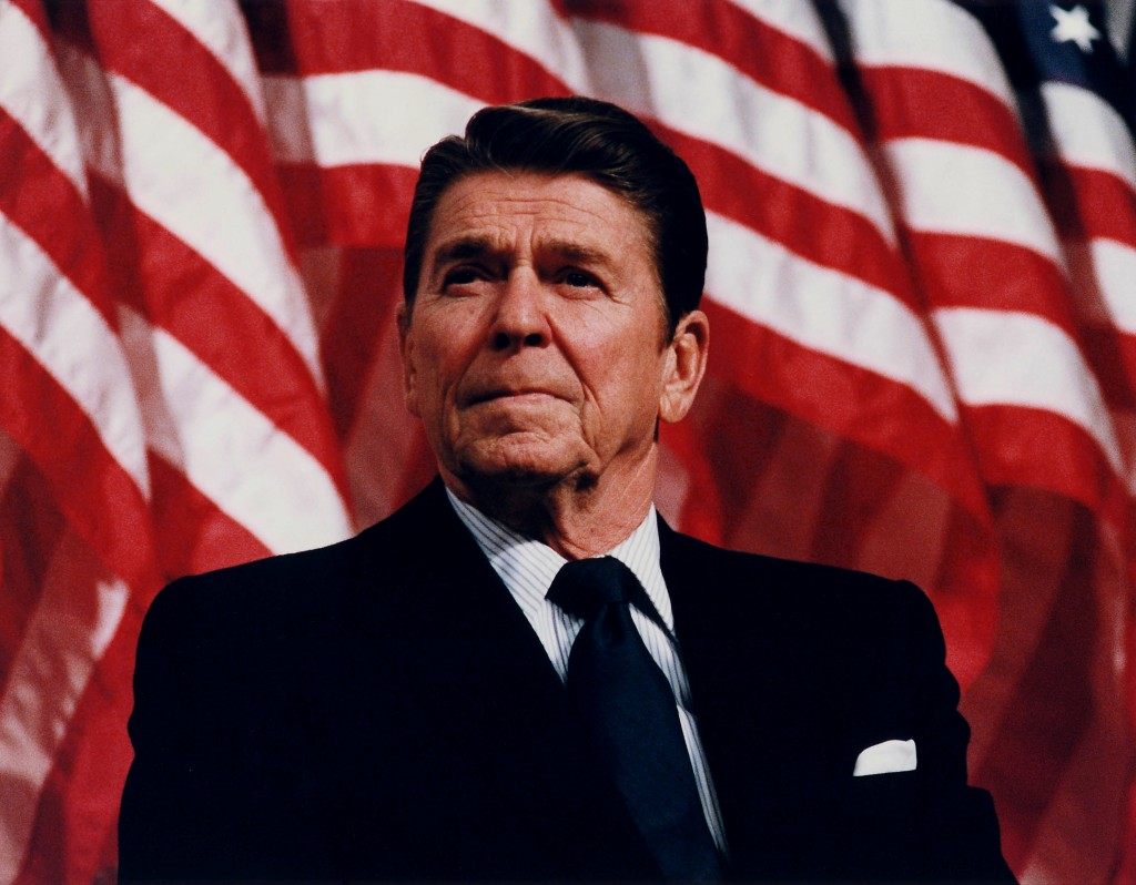 Ronald Reagan. (Source: Wikimedia Commons)