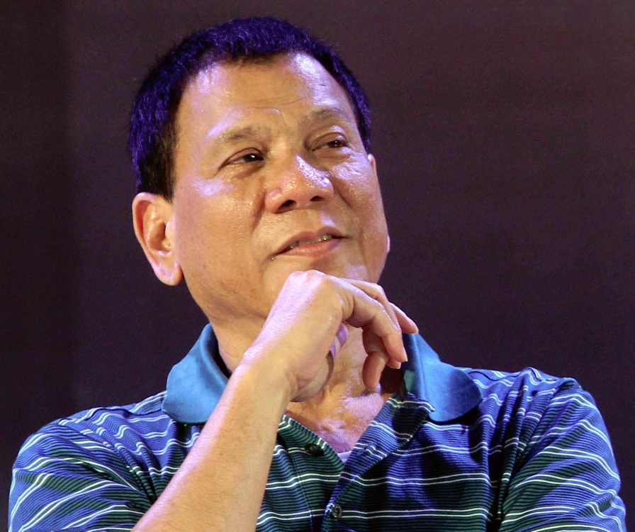 Rodrigo Duterte. (Wikimedia Commons)