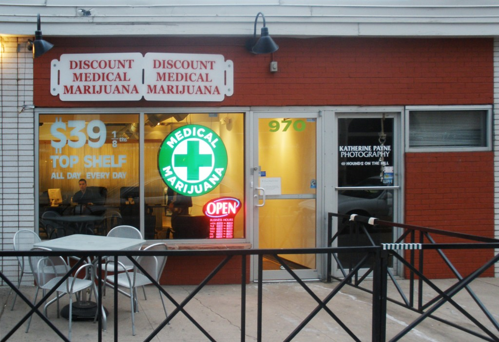 Medical Cannabis Dispensary. (Source: Wikimedia Commons)