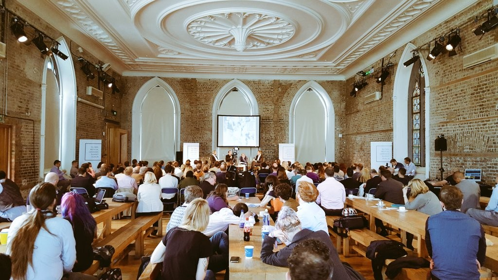 The inaugural Global Medicinal Cannabis Summit gets underway in Smock Alley Theatre, Dublin. (Source: VolteFace)