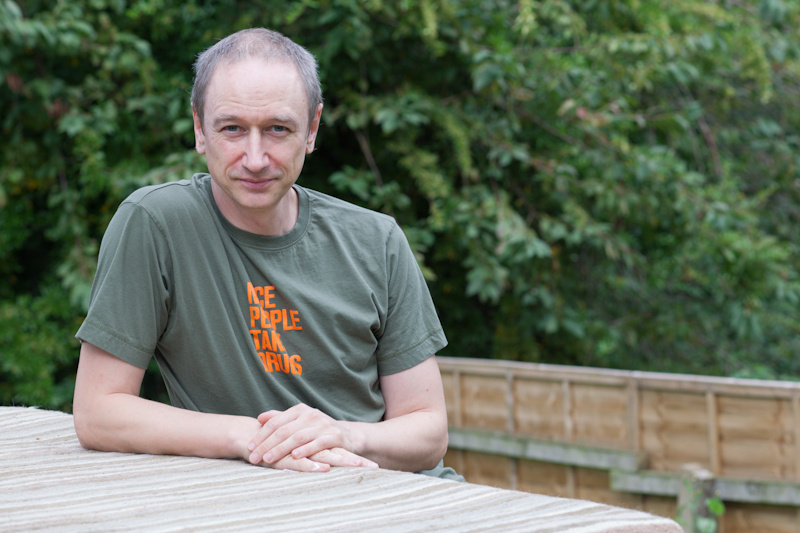 Neil Woods. Author - Good Cop, Bad War. (Photo by Ian Lloyd)