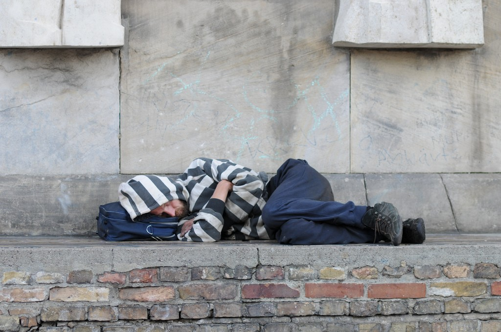 Rough Sleeper (Flickr - Steven Lilley)