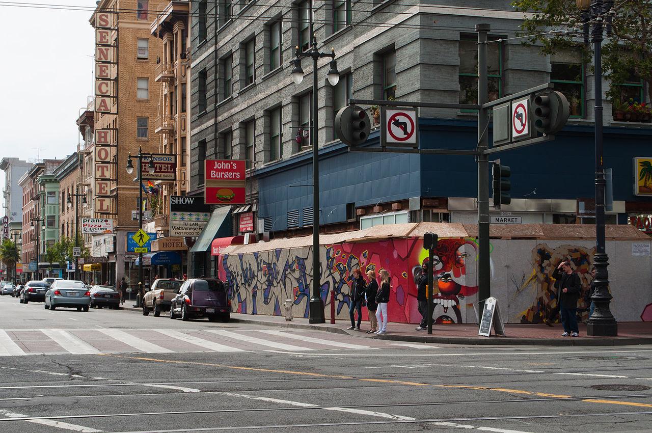 6th Street, San Francisco (Source: Wikimedia Commons)
