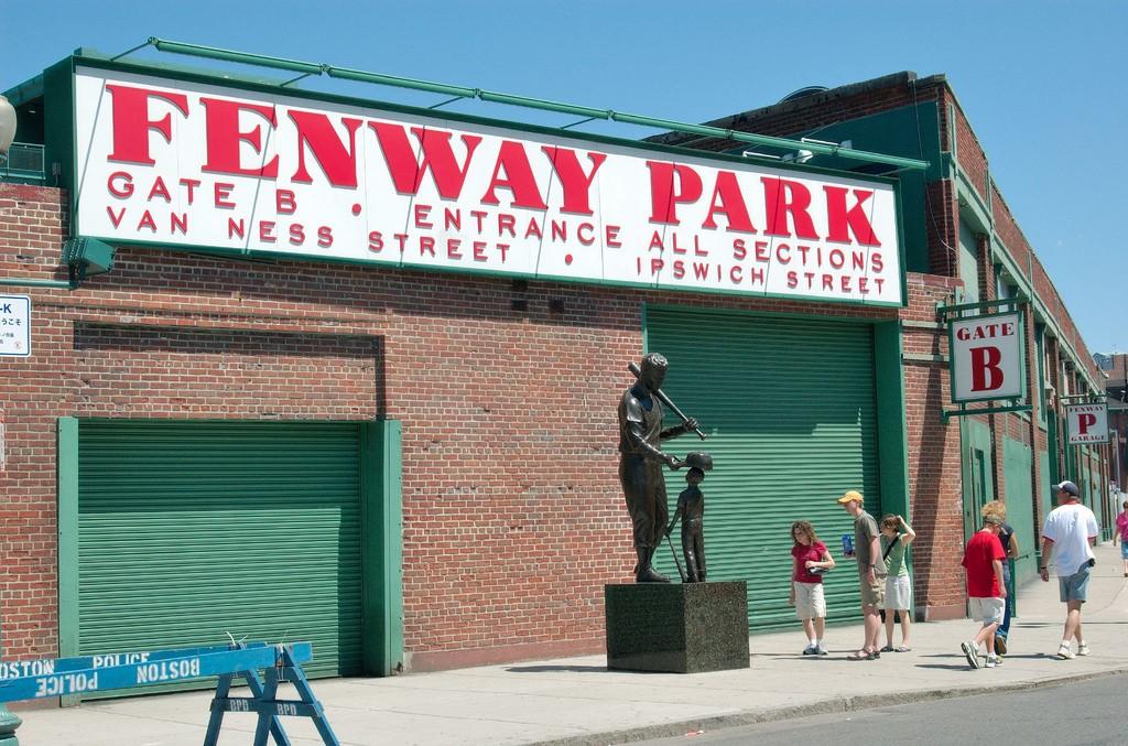 Fenway Park Mark Baylor