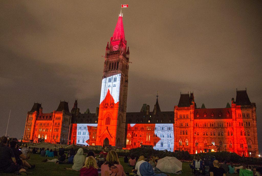 Centre Block, Parliament of Canada, Ottawa. (Wikimedia Commons)
