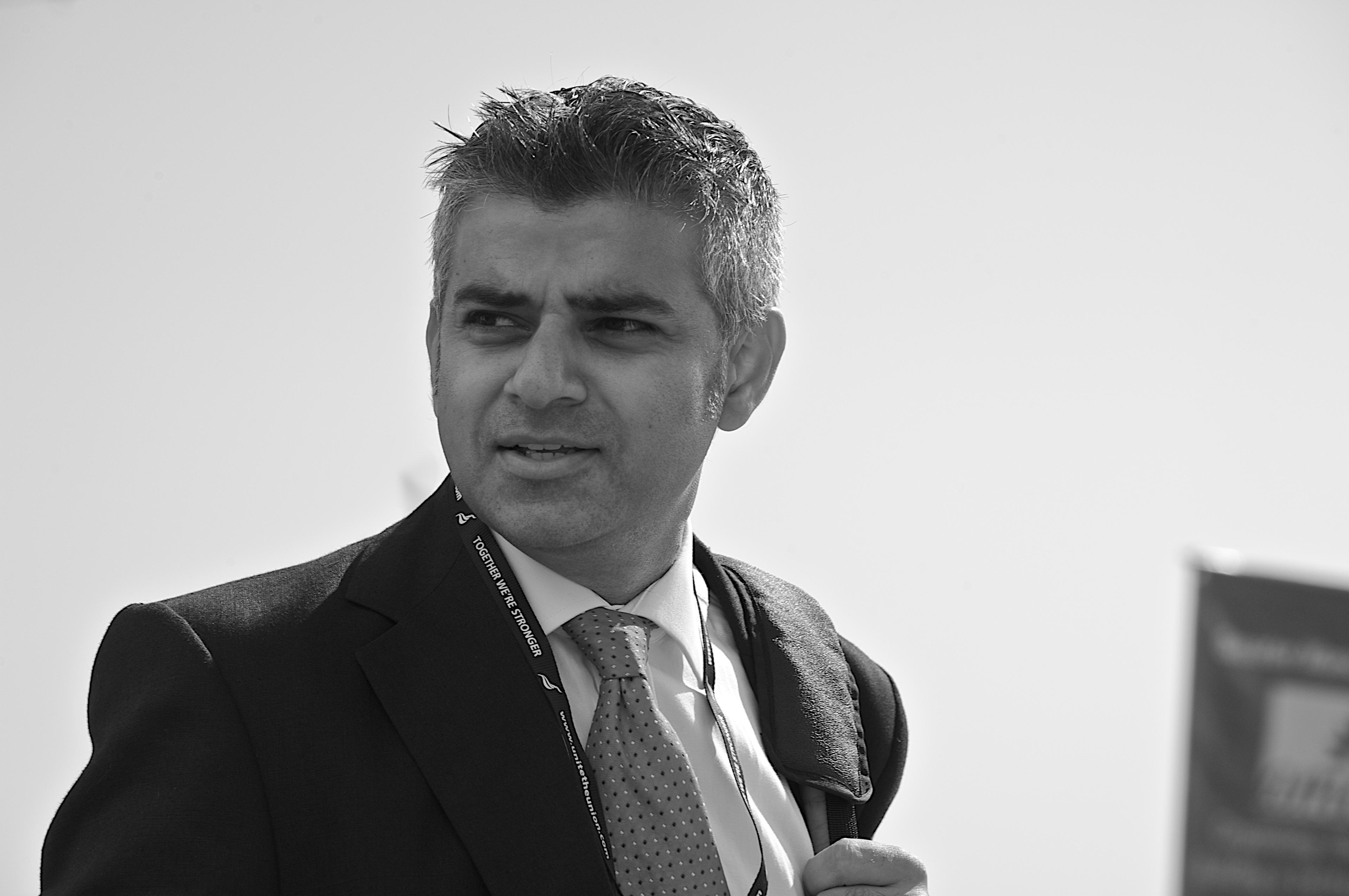 London Mayor Sadiq Khan (Wikimedia Commons)