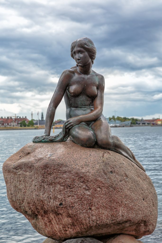 The Little Mermaid Statue, Copenhagen, Denmark. (Wikimedia Commons)