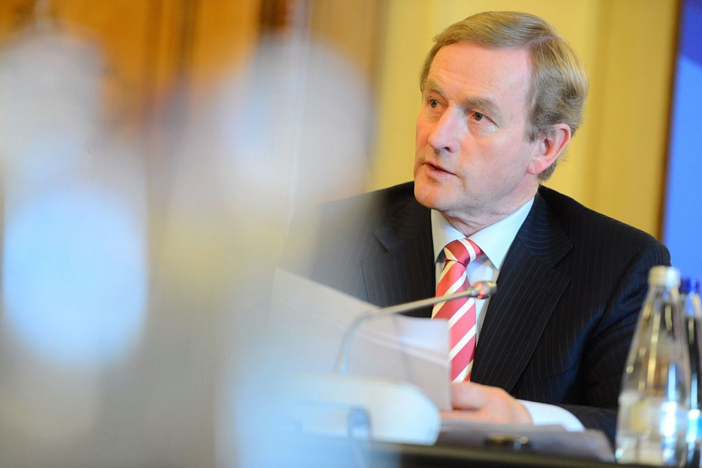 Enda Kenny (pictured) put forward the bill in Irish Parliament to legalise medicinal cannabis. (Wikimedia Commons)