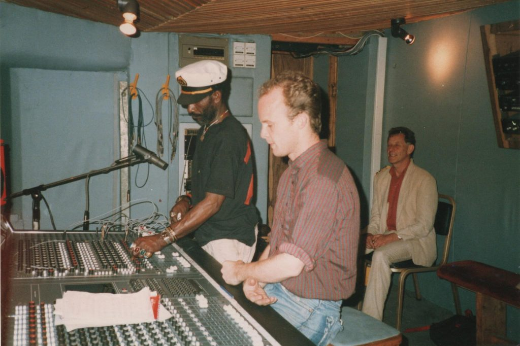 In 1986, Lee was invited by Lee Perry to join him as he recorded a new track in the studio in Holborn. (Photo by Matt Cameron-Wilton)