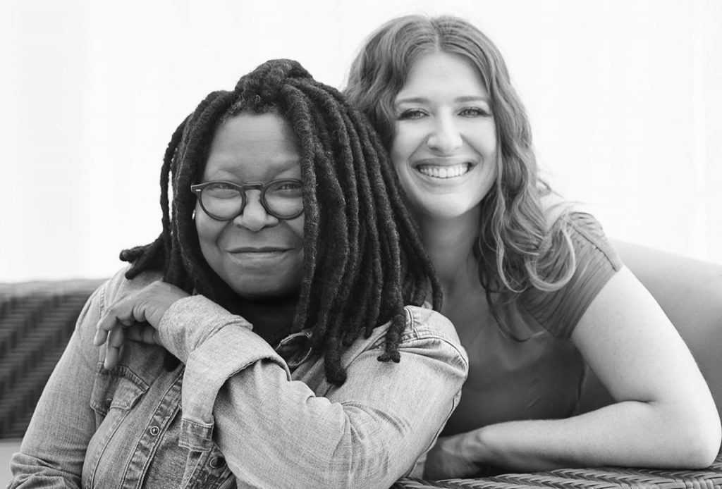 Whoopi Goldberg (left) and Maya Elisabeth (right). (Photo: Forbes)