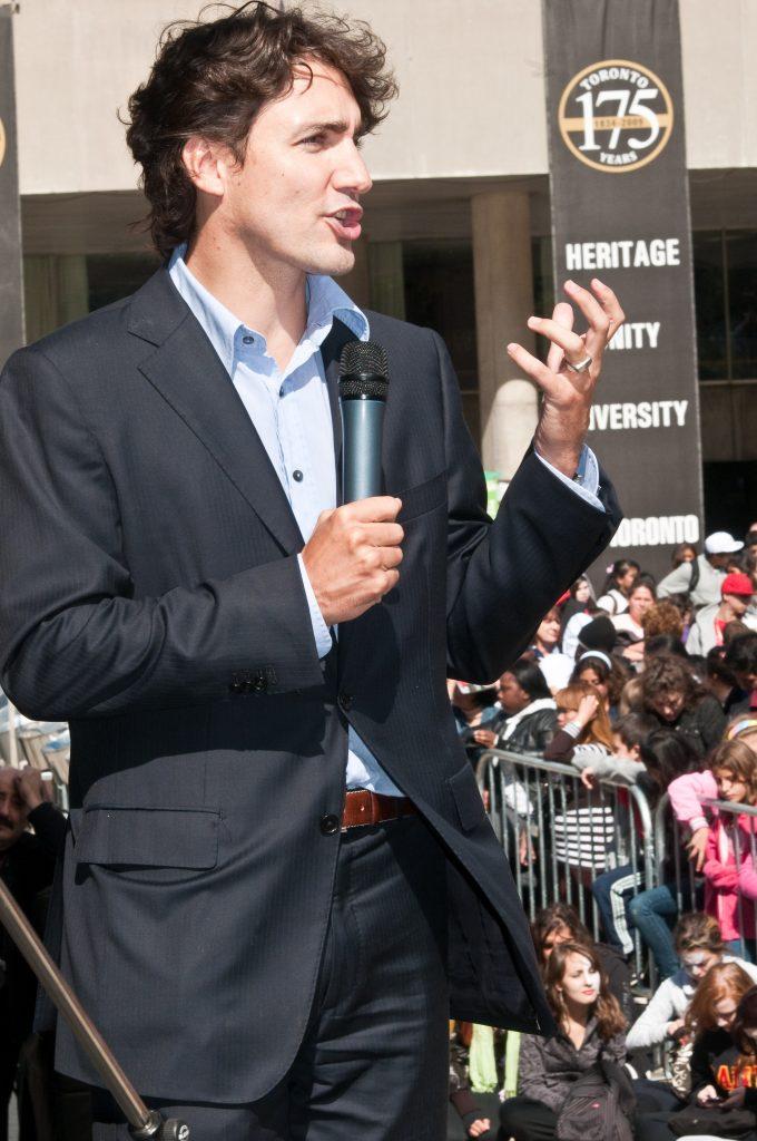 Justin Trudeau. (Flickr - michael_swan)