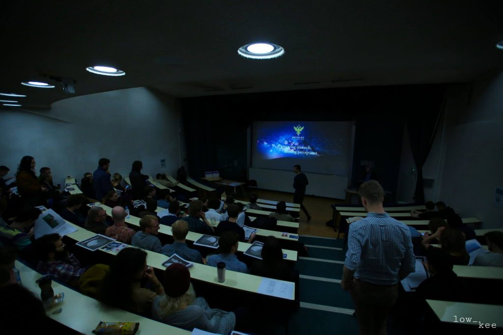 'The Sunshine Makers' screening at Kings College, London. (Photo by Low Kee Photography)