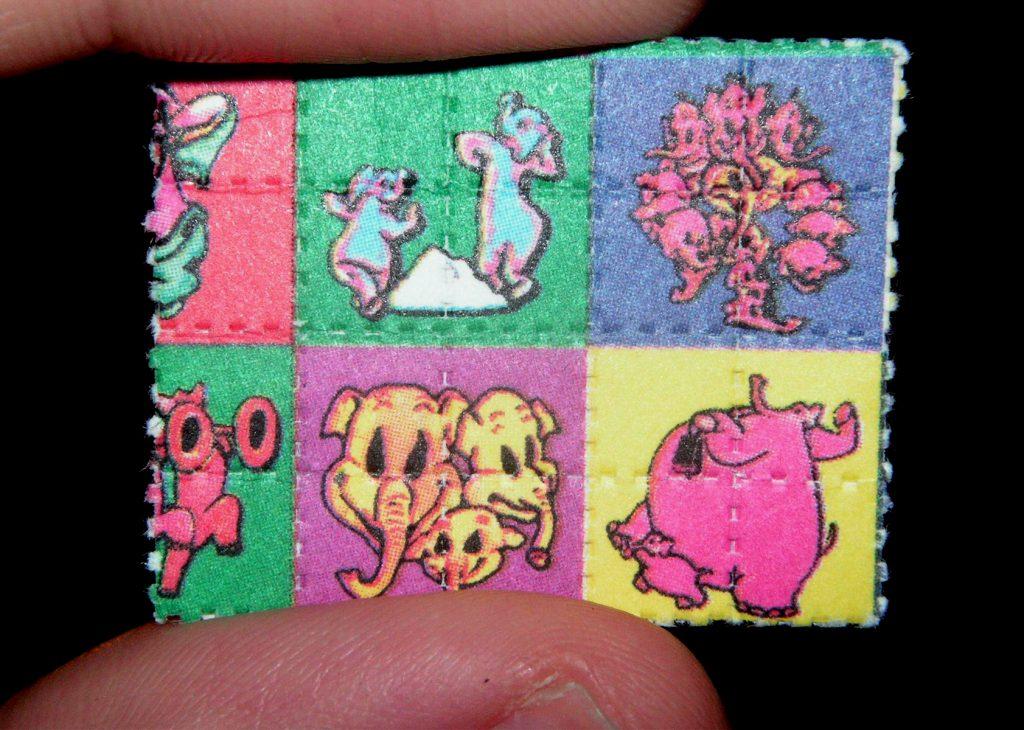 LSD tabs. (Wikimedia Commons)