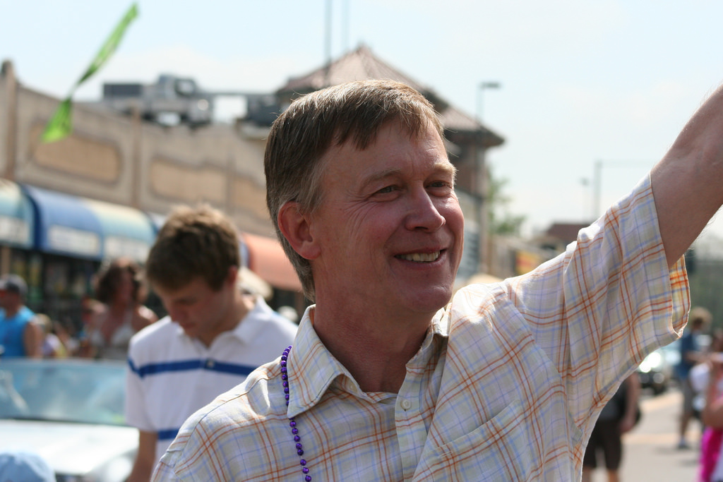 Governor John Hickenlooper (Source: Jeffrey Beall, Flickr)