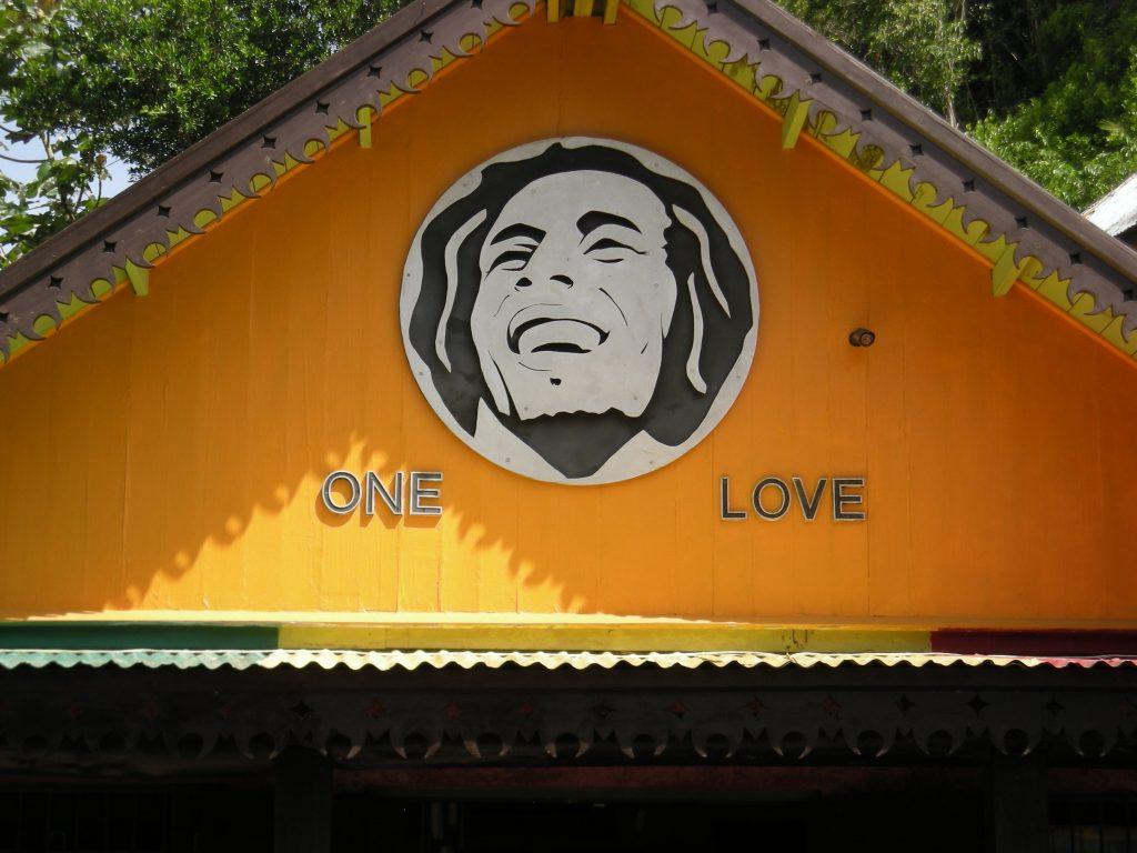 Bob Marley mural. (Wikimedia Commons)